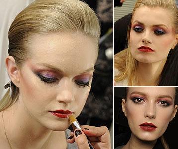 Модный макияж. Зима, Весна - 2010
