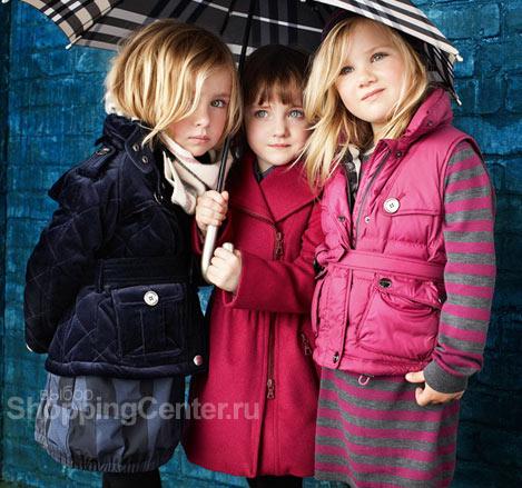 На фото: Детская мода для девочек.