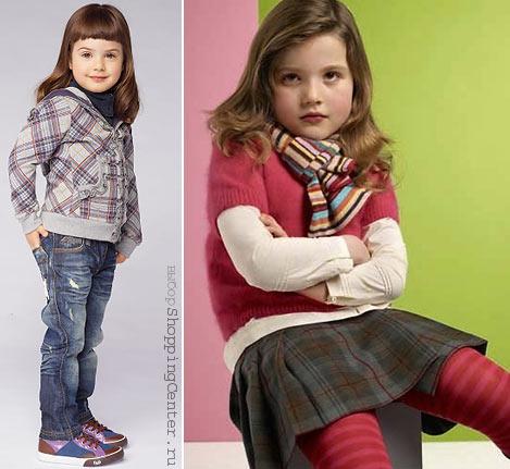 Детская мода На фото модная детская одежда: Dolce&Gabbana, Paul Smith