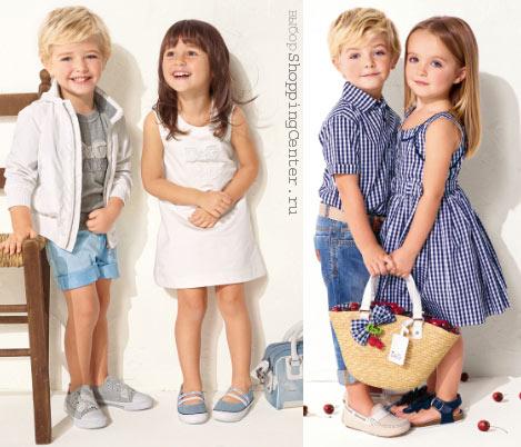 Детская одежда для девочек и мальчиков. Детская мода