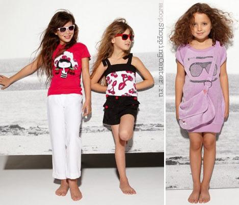 На фото детская мода модная детская