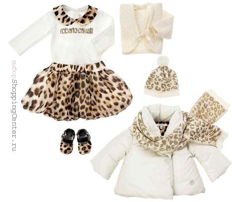 На фото детская мода 2015 зима модная