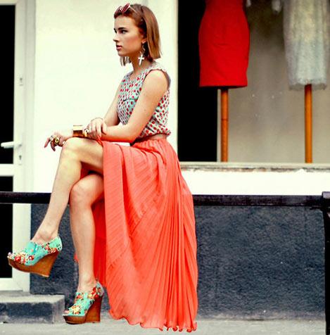 собрать модный лук лето 2012.