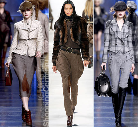Хит этого года - брюки в жокейском стиле.  В них модельеры советуют...