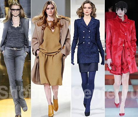 Мода. Осень, Зима 2010. Модные цвета. Фото