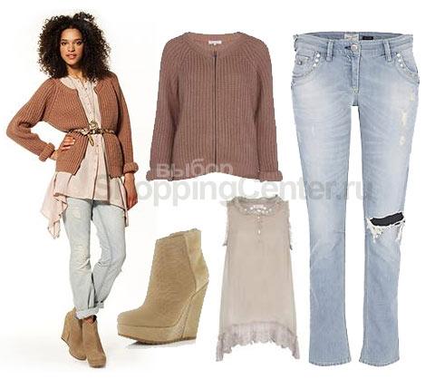 Современная модная молодежная одежда в стиле гранж из коллекции River...