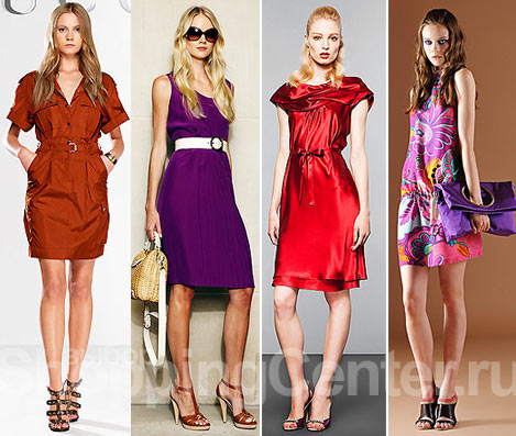 Модная одежда. Мода Зима 2012. Женская