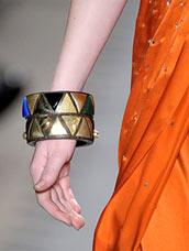Модные браслеты, украшения, бижутерия, аксессуары Весна, Лето 2009 Фото. Модные тенденции