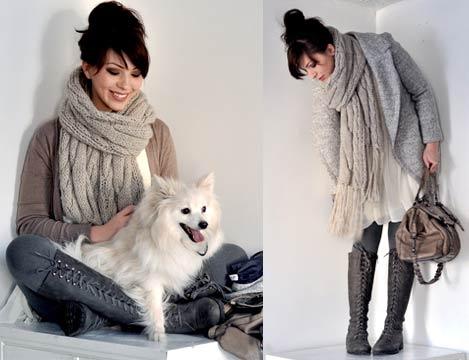 Зима.  Фото.  ТОП-10: самые модные луки.