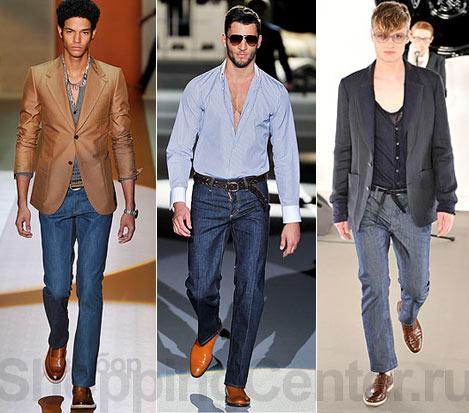 В мужской моде наметилась тенденция на экстравагантность и неожиданность...