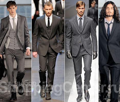 Мужской костюм. Мода 2011. Мужская одежда. Фото