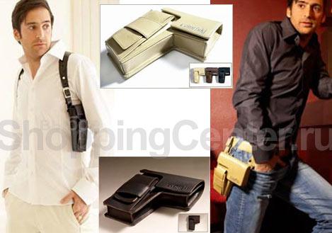 Мужская компактная сумка - кобура всегда будет интриговать...