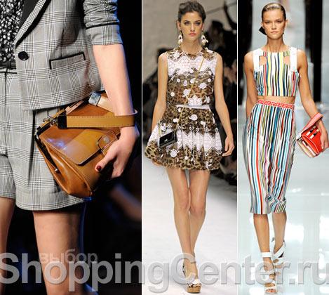 На фото женские модные сумки 2012 из коллекций Jason Wu, Dolce & Gabbana...