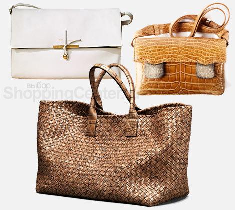 На фото модные женские сумки 2011.