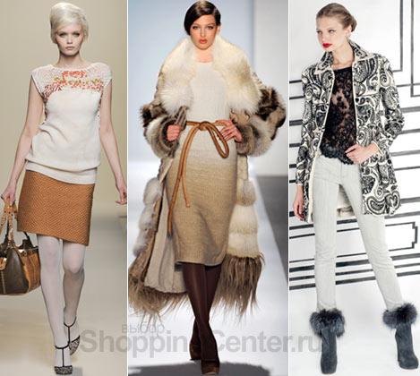 Мода 2011, модные тенденции: модная одежда, модные цвета. Фото