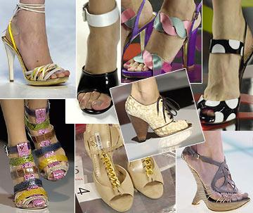 2008 Весна, Лето. Модная обувь. Сумки. Модные аксессуары.