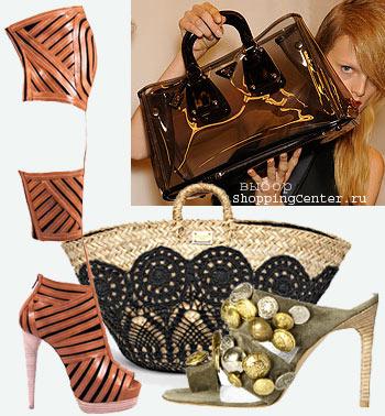 Хиты моды Лето 2012: женские прически, модная одежда, сумки и обувь .