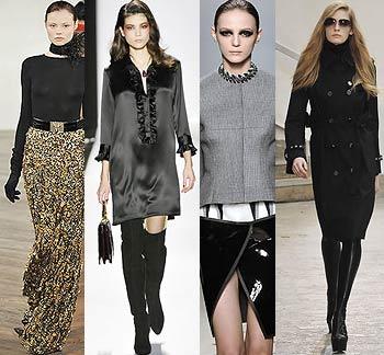 Мода. Зима, Весна 2009 Фото. Модные тенденции, модный цвет
