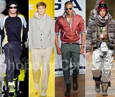 Мужская мода осень-зима 2010.  Тренды для мужчин.