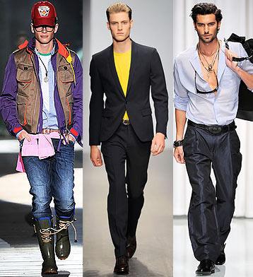 Модная одежда для парней.
