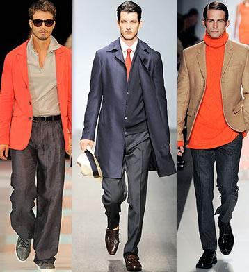 Зима 2010, Осень 2009 Модные тенденции.  Идеи для мужчин.