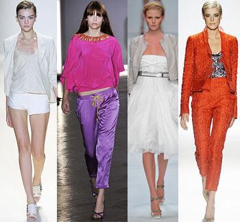 Какая мода на одежду в 2009 году.