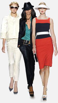 Весна, Лето 2009 Фото.  Модные детали, аксессуары, модный цвет.